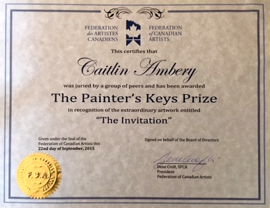 Painter's Keys Prize